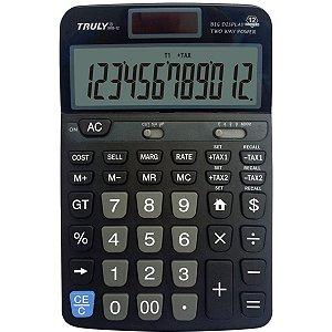 Calculadora De Mesa Trully 12Dig. Mod.968-12 Procalc
