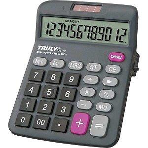 Calculadora De Mesa Trully 12Dig.visor Incl.preta Procalc