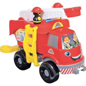 Caminhao Bombeiros Grande C/som Merco Toys