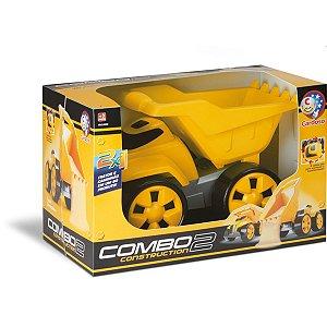 Caminhao Combo 2 Construction Cardoso Toys