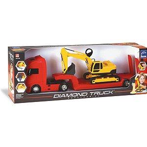 Caminhao Diamond Truck C/escavadeira Roma