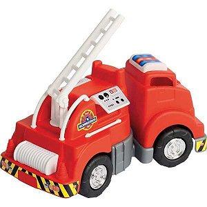 Caminhao Mercotruck Bombeiro Merco Toys