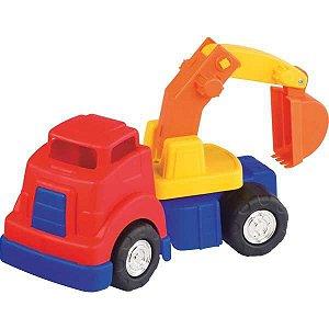 Caminhao Mercotruck Escavadeira Merco Toys