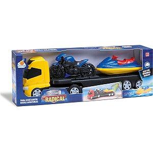 Caminhao Trans Sport Radical Sortidas Orange Toys