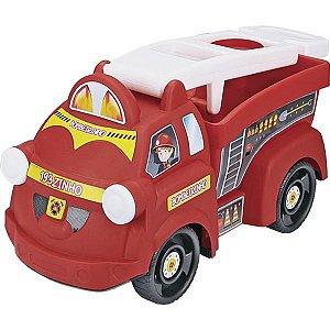 Caminhao Truck Bombeirinho Homeplay