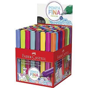 Caneta Com Ponta Porosa Fine Pen Colors Cores Sortidas Faber-Castell