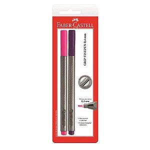 Caneta Com Ponta Porosa Fine Pen Grip 0,4Mm Rs/ll Faber-Castell