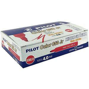 Caneta Hidrografica Color 850L Junior Vermelho Pilot
