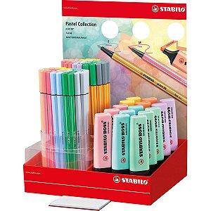 Caneta Stabilo 24/04-1 Boss/pen/point Pastel Sertic