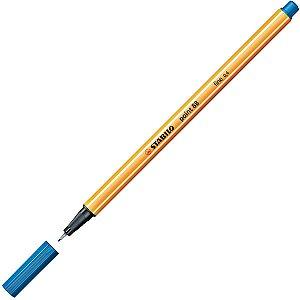 Caneta Stabilo 88/32 Point Azul Royal Sertic