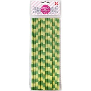 Canudo Biodegradável Bambu 6X200Mm Bl.c/12Un Make+