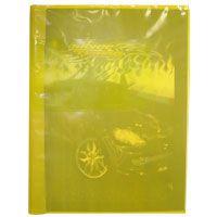 Capa Para Caderno Plástica Brochurao Amarelo Plasitiban