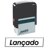 Carimbo Autoentintado Automatico 38X14Mm Lancado Carbrink