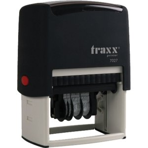 Carimbo Autoentintado Datador Traxx Printer 64X40Mm. Carbrink