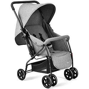 Carrinho De Bebê Max 0-15Kg Cinza Multikids