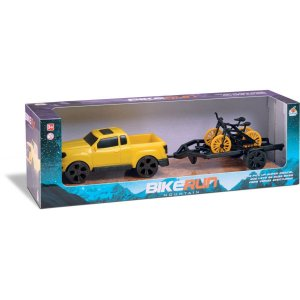 Carrinho Bike Run Mountain Cores Sort. Orange Toys