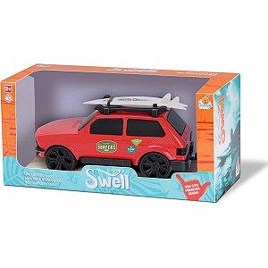 Carrinho Swell Car C/prancha Cores Sort Orange Toys