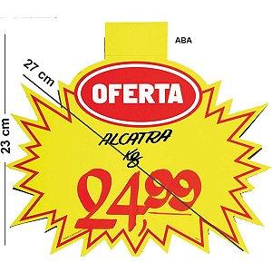 Cartaz Para Marcacao Splash Oferta Amarelo 23X27Cm Radex
