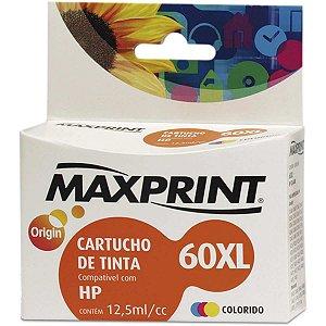 Cartucho Compativel Hp 60Xl Colorido Maxprint