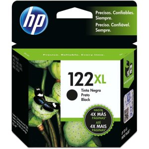 Cartucho Original Hp 122Xl Preto Inkjet Hp