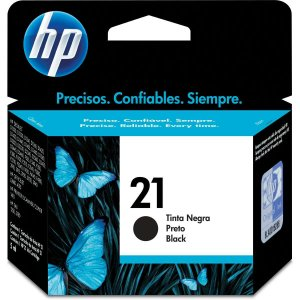 Cartucho Original Hp 21 Preto Inkjet Hp