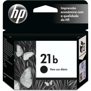Cartucho Original Hp 21B Preto Everyday Inkjet Hp