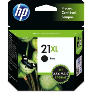 Cartucho Original Hp 21Xl Preto Inkjet Hp