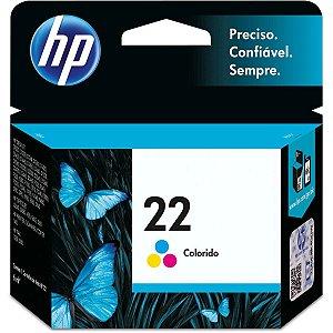 Cartucho Original Hp 22 Colorido Inkjet Hp