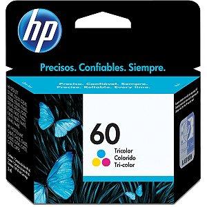 Cartucho Original Hp 60 Colorido Inkjet Hp