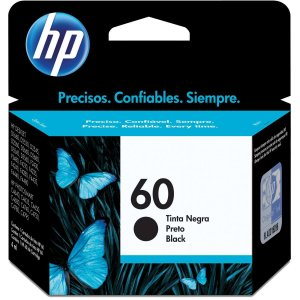 Cartucho Original Hp 60 Preto Inkjet Hp