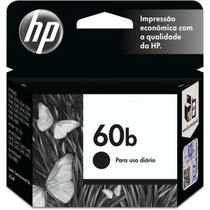 Cartucho Original Hp 60B Preto Everyday Inkjet Hp