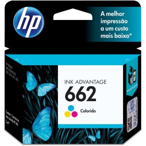 Cartucho Original Hp 662 Colorido Ink Advantage Hp