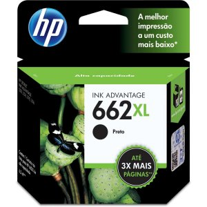 Cartucho Original Hp 662Xl Preto Ink Advantage Hp