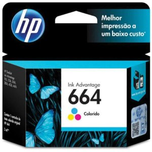 Cartucho Original Hp 664 Colorido Ink Advantage Hp