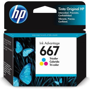 Cartucho Original Hp 667 Colorido Ink Advantage Hp