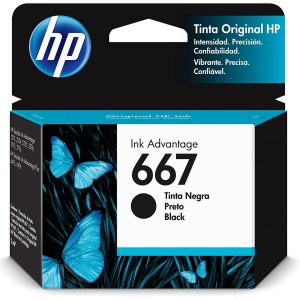 Cartucho Original Hp 667 Preto Ink Advantage Hp