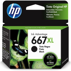 Cartucho Original Hp 667Xl Preto Ink Advantage Hp