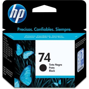 Cartucho Original Hp 74 Preto Inkjet Hp