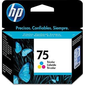 Cartucho Original Hp 75 Colorido Inkjet Hp