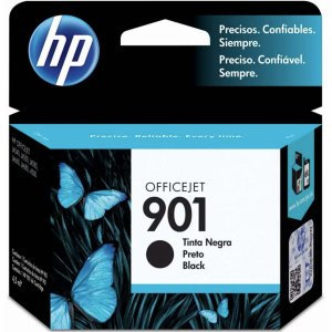 Cartucho Original Hp 901 Preto Officejet Inkjet Hp