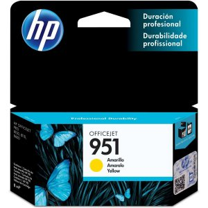 Cartucho Original Hp 951 Amarelo Officejet Hp