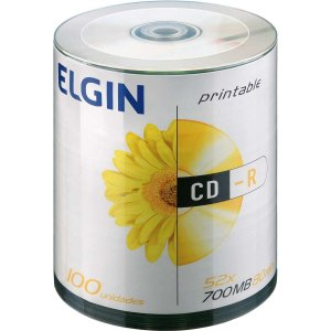 Cd Gravavel Printable Cd-R 700Mb/80Min/52X Elgin