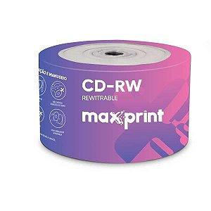 Cd Gravavel Cd-R 700Mb/80Min/52X Maxprint
