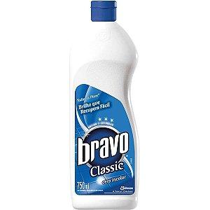 Cera Liquida Bravo Classic Incolor 750 Ml Sc Johnson