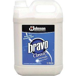 Cera Liquida Bravo Incolor Galao 5L Sc Johnson