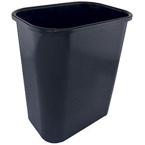 Cesto Para Lixo Preto 12,5Lts. Dello