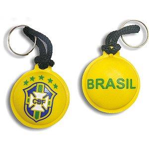 Chaveiro Do Brasil Brasao Emborrac. Curto Sortido Enjeplastic