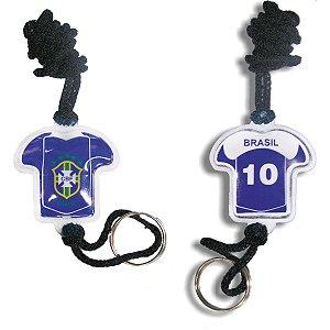 Chaveiro Do Brasil Camisa Moto C/gel Sortidos Enjeplastic