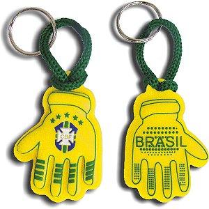 Chaveiro Do Brasil Luva Goleiro Emborrac. Sortido Enjeplastic