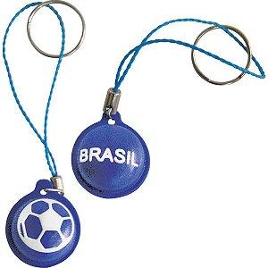 Chaveiro Do Brasil Pingente Bola Emborrac. Sortid Enjeplastic